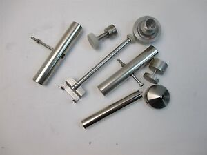 Lot Of Random Stainless Steel Parts From Jeol Microscope