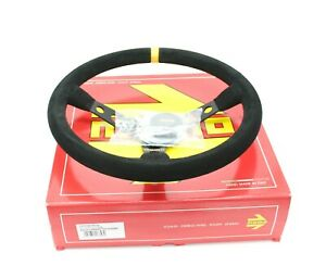 Momo Mod 07 350 Mm Suede Racing Drift Competition Steering Wheel R1905 35s
