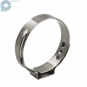 Stainless Steel 1 Pex Clamp Cinch Ring Crimp Pinch Fitting Tubing 50pcs Us