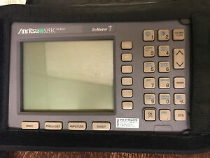 Anritsu S251c Site Master Analyzer With Certificate Of Calibration