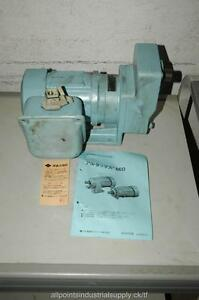 Sumitomo Neo Gear Reducer Motor Altax Drive Cnhm01 1 8hp Ratio 25 W Brake