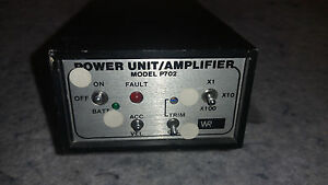 Wilcoxon Research P702 Power Unit Amplifier c14b1
