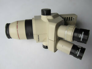 1pcs Olympus Sz40 Sz4045 Microscope W video Port Led Light