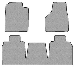2006 2009 Dodge Ram 2500 3500 3 Pc Set Factory Fit Floor Mats Mega Cab