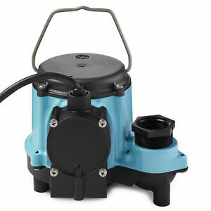 Little Giant 6 Series 6 cia 1 3 Hp Integral Diaphragm Submersible Sump Pump