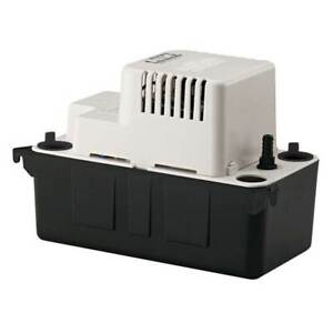 Little Giant Vcma 15ul Series 1 50 Hp 1 2 Gallon Tank Condensate Removal Pump