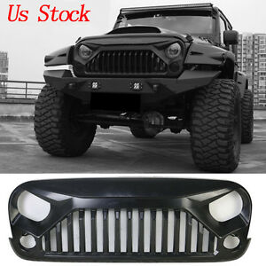 Upgrade Angry Bird Front Grill Grille For Jeep Wrangler 07 18 Jk