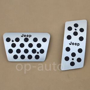 Foot Gas Brake Pedal For Jeep Wrangler Jk 2007 2017 Automatic Accessories