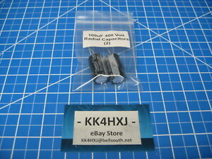 Radial Electrolytic Capacitors 400v 100uf Imported 2 Pieces