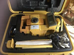 Topcon Gts 802a Electronic Total Station Calibrated