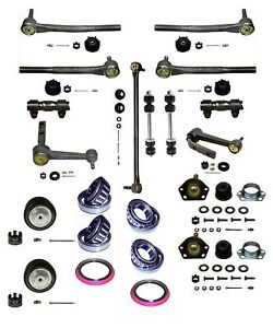 21 Piece Tie Rod Ball Joint Idler Arm Kit 1991 05 Astro Safari 2 wd