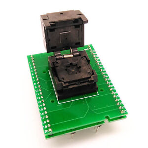 Qfn40 Mlf40 To Dip40 Programming Test Socket Adapter Pitch 0 5mm I