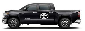 Toyota Emblem Car Or Truck Vinyl Decal Sticker Custom Aftermarket Toyota Logo