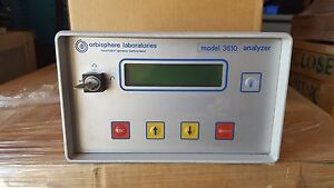 Orbisphere Laboratories 3610 Oxygen Analyzer Model 3610 220e