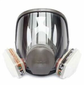 Respirator New Fed Full Face Mask Kit Supplied Fresh Air For Paint Spray Gas K