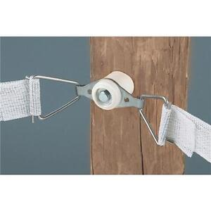 Dare 1 1 2 Wide Wood T post Electric Fence Poly Tape Tensioner 2 pk 2810n