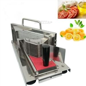 Commercial Tomato Lemon Cutter Manual Fruit vegetable Slicer Slicing Machine Oq