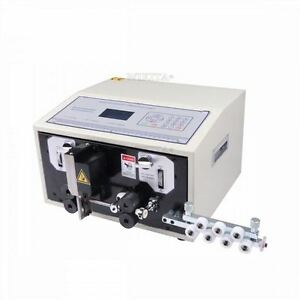 220v Computer Controlled Automatic Wire Striping New Cutting Machine Swt508 e M