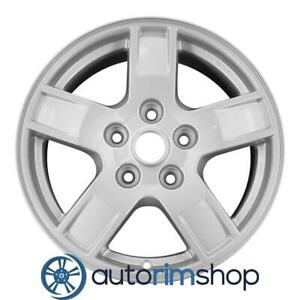 Jeep Grand Cherokee 2005 2006 2007 17 Factory Oem Wheel Rim Silver 5ht53zdjaa