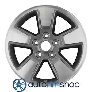 Jeep Liberty 16 Factory Oem Wheel Rim Machined With Charcoal