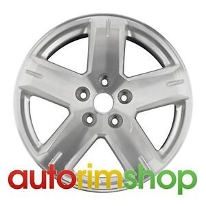 Dodge Journey 2008 2009 2010 19 Factory Oem Wheel Rim Machined With Silver