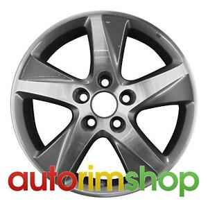 Acura Tsx 17 Factory Oem Wheel Rim Machined With Charcoal