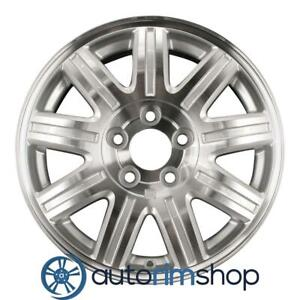 Chrysler Town Country 16 Factory Oem Wheel Rim Machined With Silver