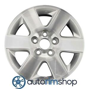 New 16 Replacement Rim For Toyota Sienna 2004 2010 Wheel Machined Silver 69444