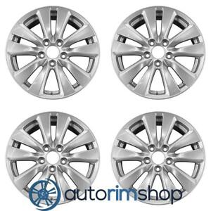 Honda Accord 2011 2012 17 Oem Wheels Rims Set