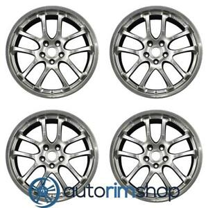 Infiniti G35 2005 2007 19 Factory Oem Staggered Wheels Rims Set