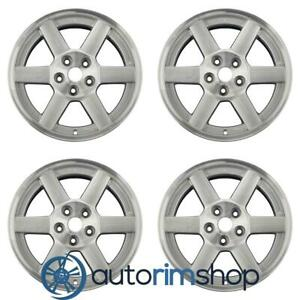 Jeep Liberty 2003 2007 17 Factory Oem Wheels Rims Set Machined With Silver
