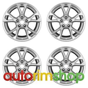 Nissan Maxima 2012 2015 18 Factory Oem Wheels Rims Set Silver