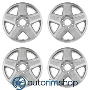 Chevrolet Trailblazer Ext Isuzu Ascender 2002 2003 17 Oem Wheels Rims Set