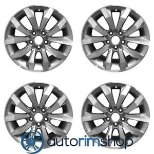 Honda Civic Civic Si 2009 2011 17 Factory Oem Wheels Rims Set