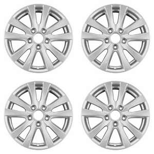 Honda Civic 2012 2014 16 Factory Oem Wheels Rims Set