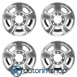 New 17 Replacement Wheels Rims For Dodge Ram 1500 2500 3500 Set Machined Wit
