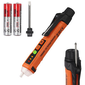 12 1000v Non contact Led Electric Detector Ac Voltage Tester Pen W Screwdriver