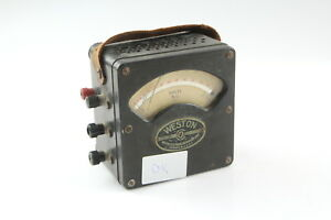 Weston Electrical Instruments Model 433 A c Meter