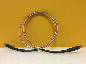 Carlisle Whu18 3636 048 Dc To 18 Ghz Sma m To Sma m Rf Cable Assembly