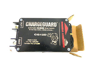 Chargeguard Timer Switch Automatic On off For 2 way Radios Pn Cg12d