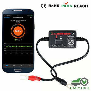 12v Car Battery Tester Analyzer Bm2 Bluetooth 4 0 Digital Real Time Monitoring