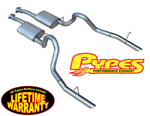 1986 1993 Mustang Lx 5 0 2 5 Pypes Cat back Exhaust System W Vi