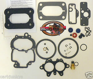 2280 Holley 2b Carburetor Rebuild Kit Chyrsler Dodge Plymouth 1962 87 15702