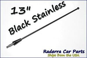 13 Black Stainless Am Fm Antenna Mast Fits 1998 2016 Toyota Sienna