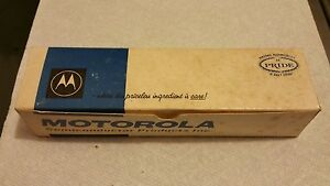 Nos Motorola 2n4901 7313 Power Transistors Still In Blister Pack And Main Box