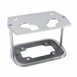 Rpc R6323 Optima Group 34 78 Ball Milled Aluminum Battery Hold Down Tray Red Yel