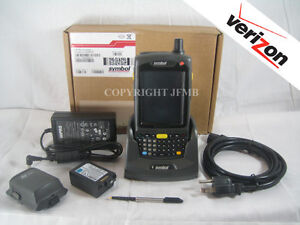 Symbol Motorola Mc75a Mc75a8 p4fswqra9wr Wireless Verizon 2d Barcode Scanner Gps