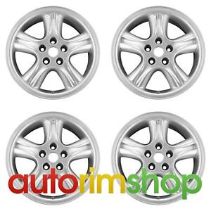 Jaguar Xj 1998 2003 18 Factory Oem Wheels Rims Set Penta