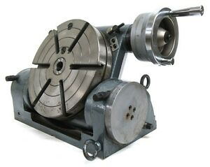 Yuasa 550 210 10 Tilting Rotary Table