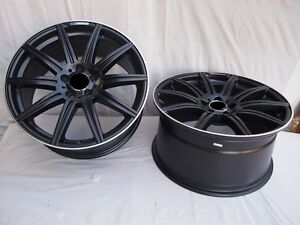 18 Black Amg E63 Wheels Rims Fits Mercedes Benz E Class E320 E350 E430 E500 E55